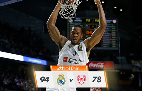 Real Madrid Baloncesto - Olympiacos Piraeus 94:78
