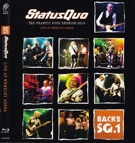 Status Quo - Back2SQ.1 The Frantic Four Reunion (2013, Blu-Ray)