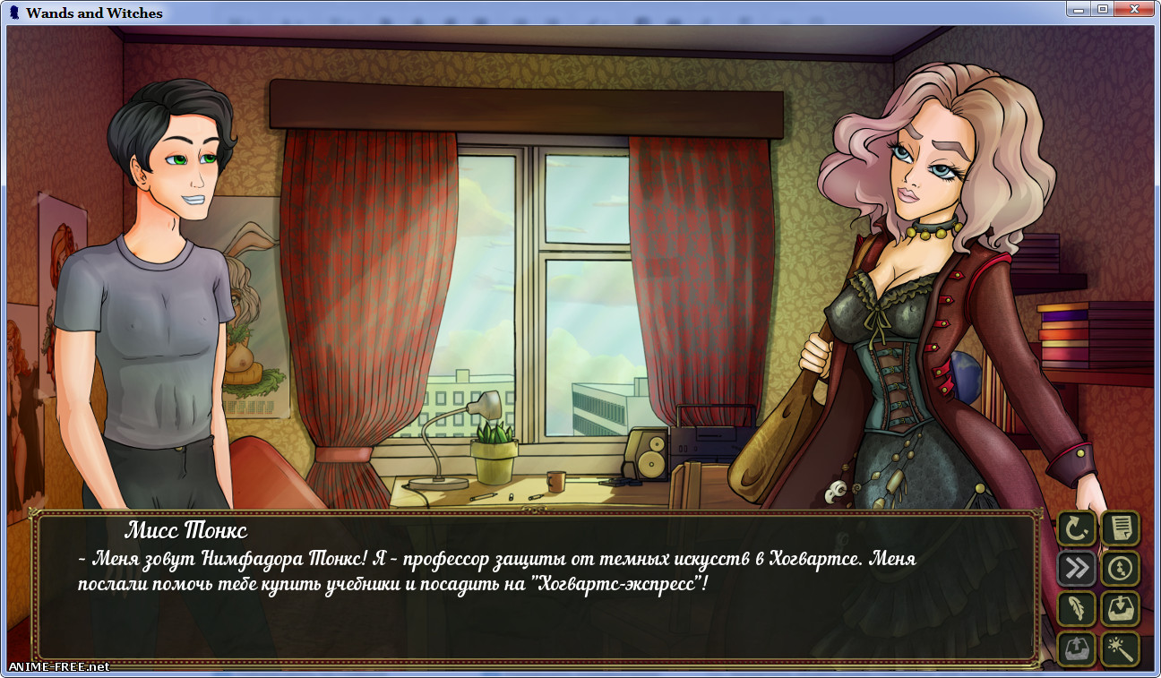 Wands and Witches [2017] [Uncen] [RPG] [Android compatible] [RUS,ENG] H-Game