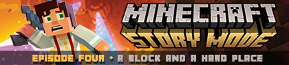 Minecraft: Story Mode The Complete Adventure Season One Episodes 1 - 8
