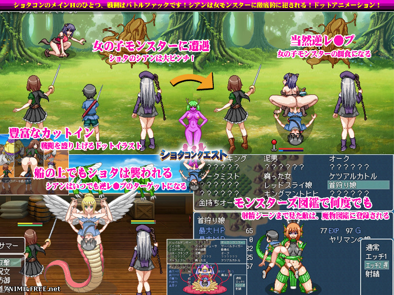 Shotaku Quest ~My Okichin is being targeted!~ [2019] [Cen] [jRPG, DOT/Pixel] [JAP] H-Game
