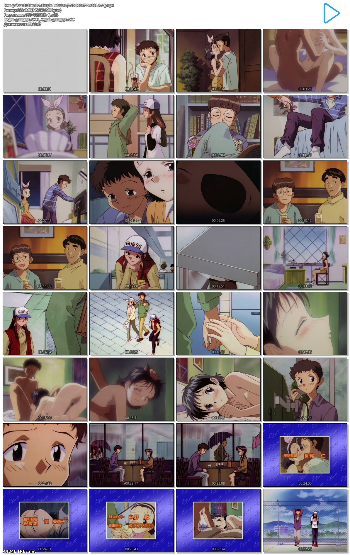 Ecchies / Фривольности [Ep.1-2] [RUS,ENG,JAP] [720p] Anime Hentai