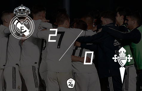 Real Madrid Castilla - Celta B 2:0