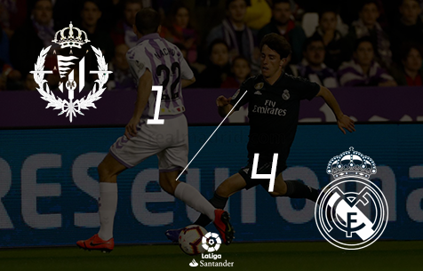 Real Valladolid C.F. - Real Madrid C.F. 1:4
