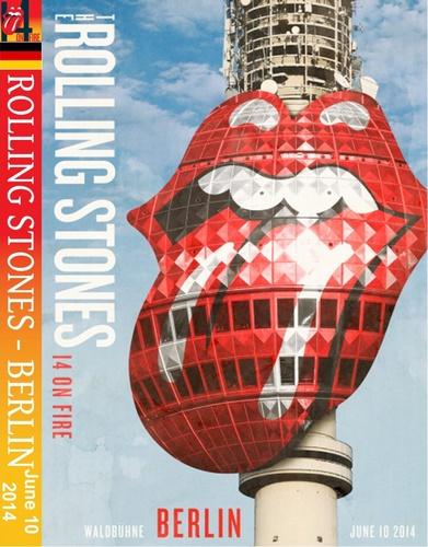Rolling Stones - Live At Waldbühne Berlin (2014, DVD9)