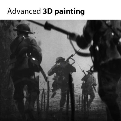 Джама Джурабаев | Продвинутое 3D рисование / Advanced 3d painting (2017) PCRec [H.264 / 1080p-LQ] [EN]