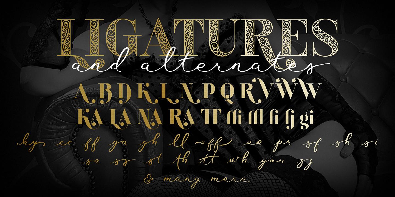 Шрифт Waymar