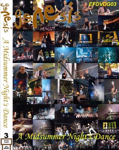 Genesis - A Midsummer Night's Dance 1992 (2011, 2xDVD5)