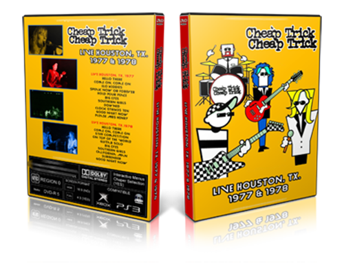 Cheap Trick - Live Houston 1977-1978 (2019, DVD5)