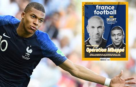 """France Football: """"Мадрид"""" предложит за Мбаппе 280 млн?"""