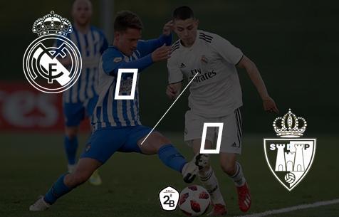 Real Madrid Castilla - SD Ponferradina 0:0