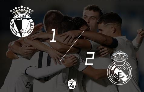 Burgos C.F. - Real Madrid Castilla 1:2