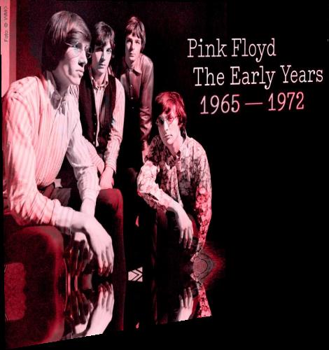 Pink Floyd - The Early Years 1965-1972 (2016, 9xBlu-Ray)
