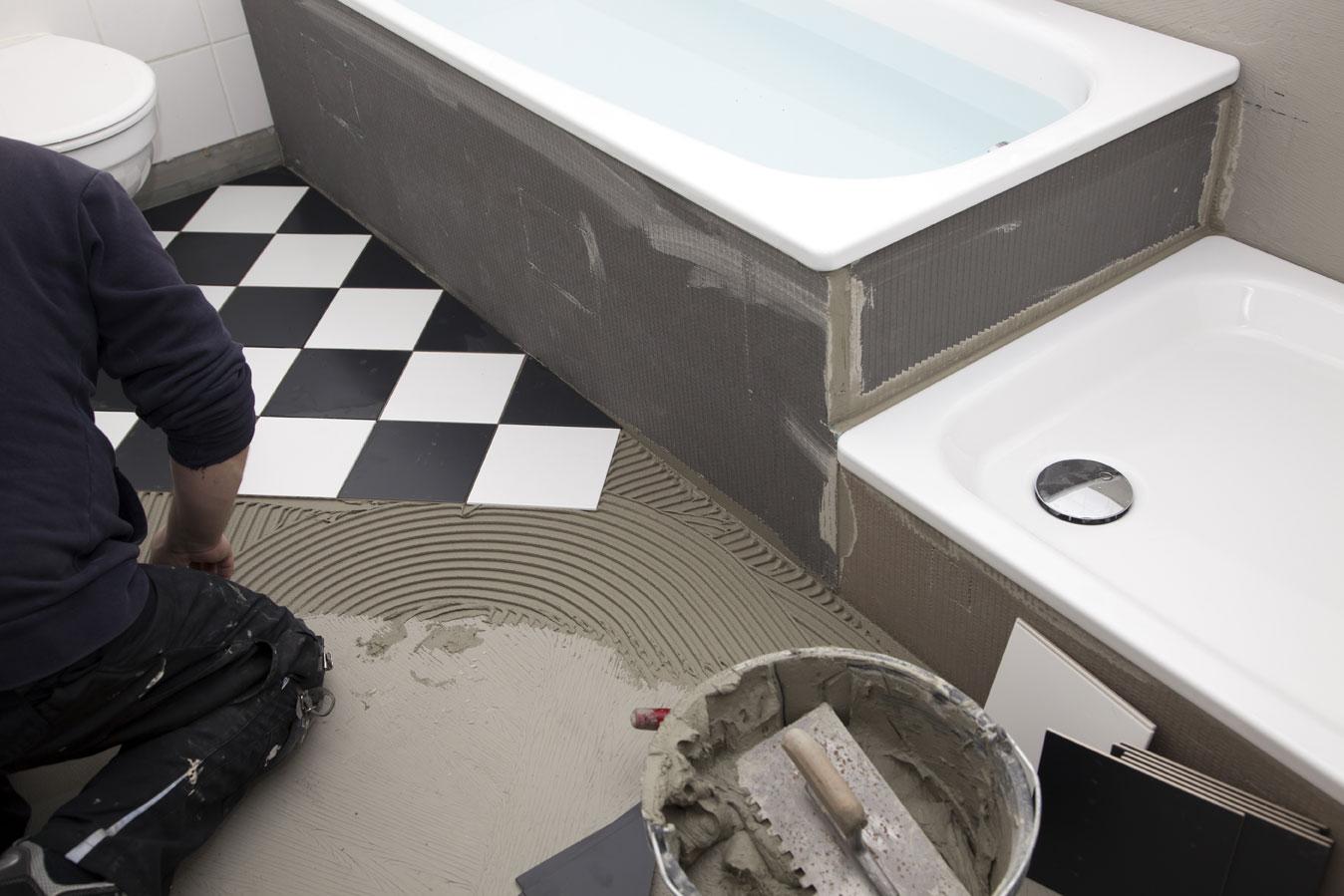 ремонт в ванной под ключ