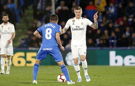 """Пассивность Крооса становится всё большей проблемой для """"Мадрида"""""""