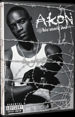 Akon - His Story (2007, DVD5)