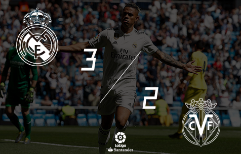 Real Madrid C.F. - Villarreal CF 3:2