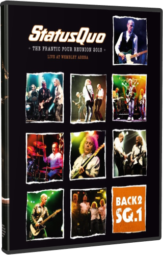 Status Quo - Back2SQ 1 The Frantic Four Reunion (2013, Blu-Ray)