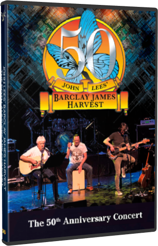 John Lees' Barclay James Harvest - The 50th Anniversary Concert (2018, DVD9)