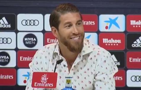 """Серхио Рамос: """"Я мадридист и хочу завершить карьеру в """"Мадриде"""""""