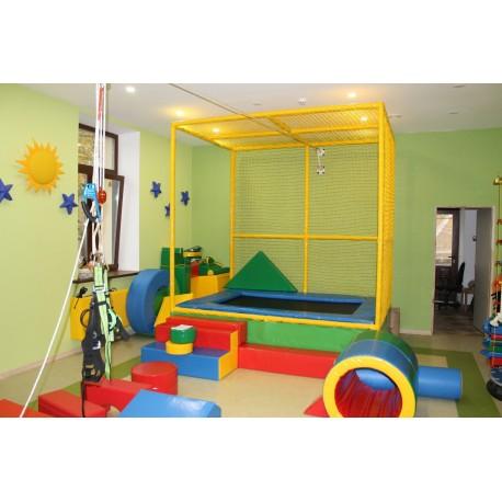 Тренажер для занятий с детьми с патологией нижних конечностей и страдающими ДЦП