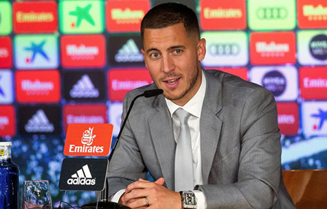 """Азар: """"Хочу помочь """"Мадриду"""" завоевать много трофеев"""""""