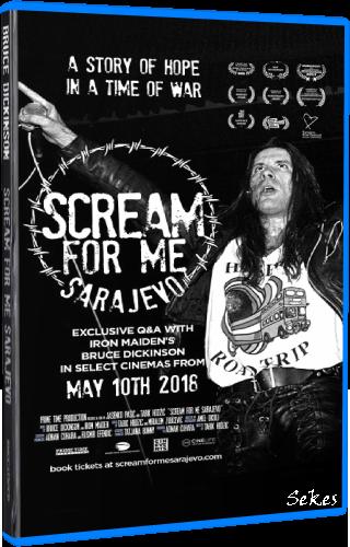 Bruce Dickinson - Scream For Me Sarajevo (2018, Blu-ray)