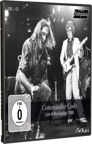 Commander Cody - Live At Rockpalast 1980 (2019, DVD9)