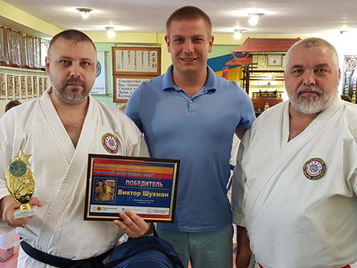 Виктор Шухман — лучший спортсмен мая