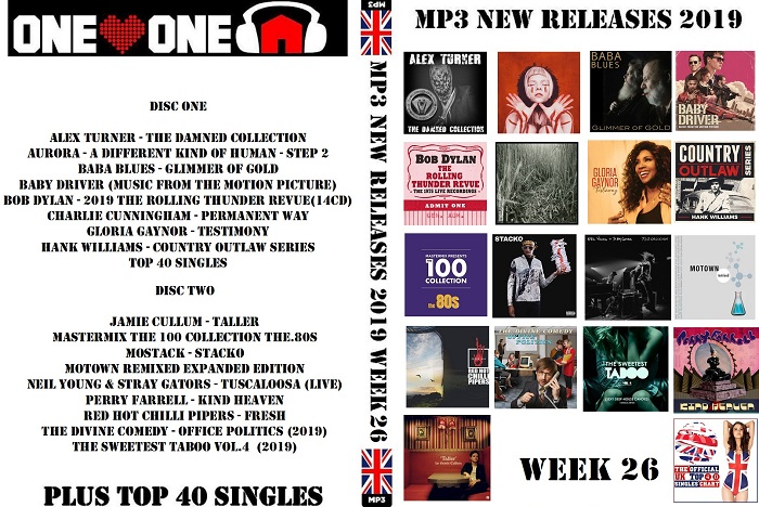 MP3 NEW RELEASES 2019 WEEK 26