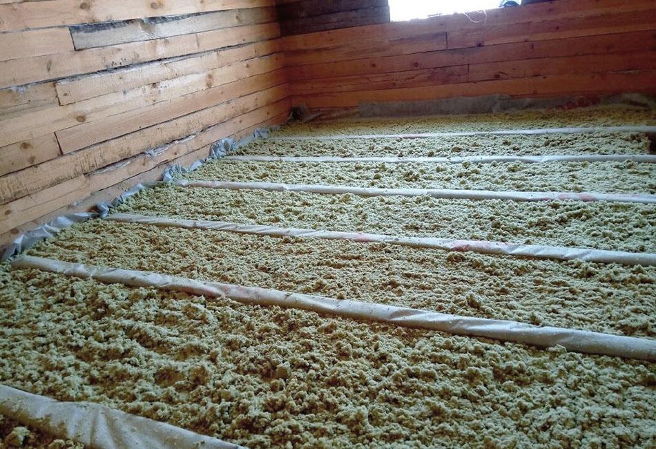 Применение базальтовой крошки в качестве утеплителя