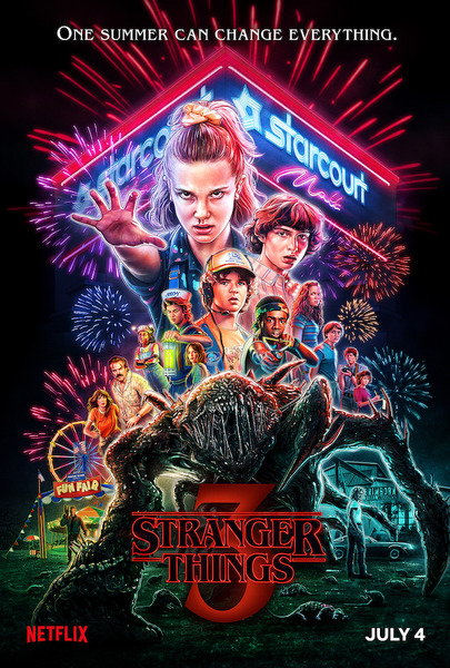 Очень странные дела / Stranger Things [S03] (2019) WEBRip от Scarabey | Пифагор