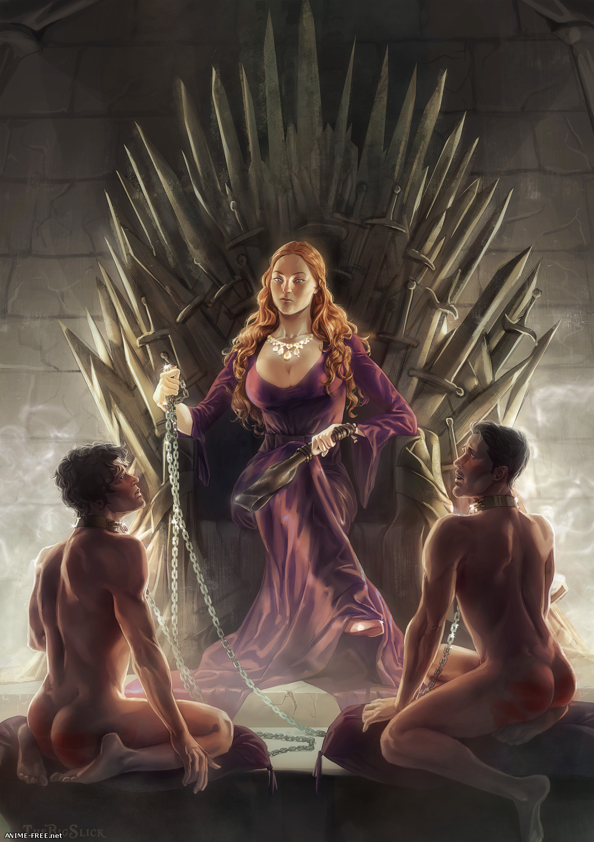Game of Thrones (Collection) - Сборник арта [Ptcen] [JPG,PNG,GIF] Hentai ART