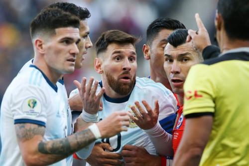 Копа Америка-2019. Матч за 3-е место. Аргентина-Чили (обзор) [Футбол]