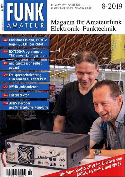 Funkamateur №8 (August 2019)