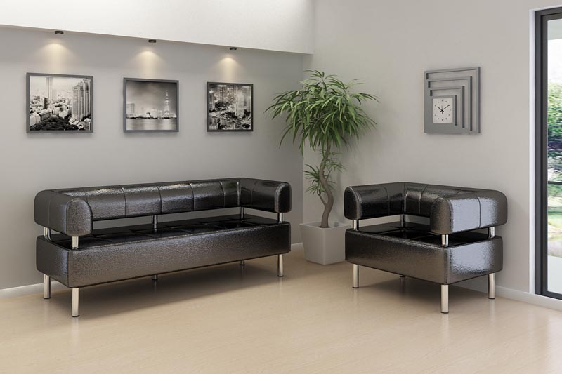 Офисные диваны как незаменимый атрибут интерьера компании