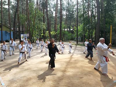 Летние сборы по карате и кобудо GASSHUKU — 2019