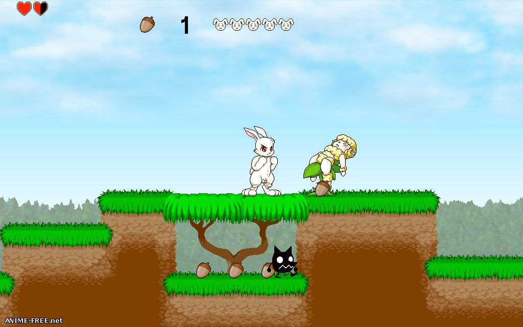 Naughty Bunny [2019] [Uncen] [Action, Platformer] [JAP,ENG] H-Game