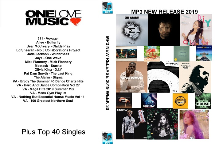 MP3 NEW RELEASES 2019 WEEK 30