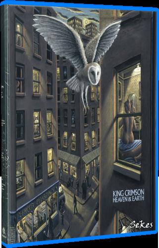 King Crimson - Heaven & Earth (Super Deluxe Box Set) (2019, 4xBlu-Ray)