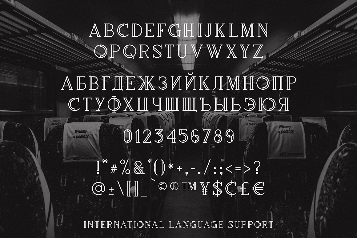 Шрифт Rollfast