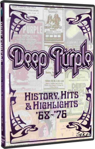 Deep Purple - History, Hits & Highlights '68-'76 (2009, 2xDVD9)