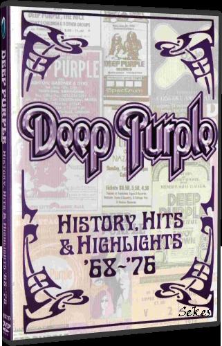 Deep Purple - History, Hits & Highlights '68-'76 (2009, 2xDVD9)
