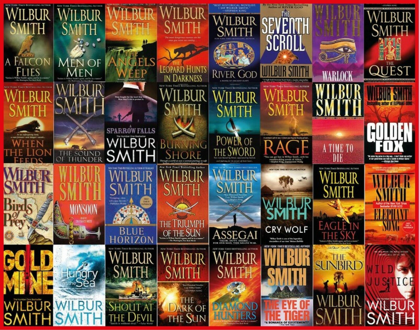 Wilbur Smith - Collection