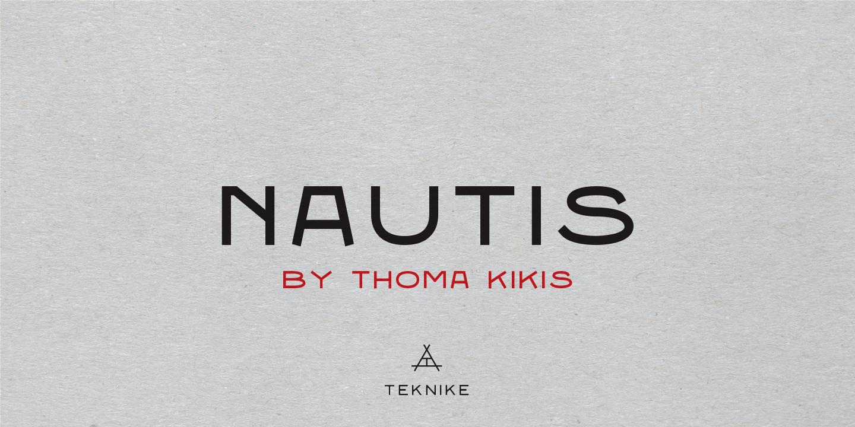 Шрифт Nautis