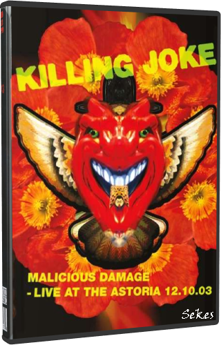 Killing Joke ‎- Malicious Damage - Live At The Astoria 2003 (2019, DVD9)