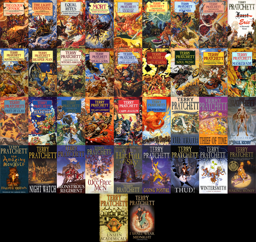 Terry Pratchett - Collection