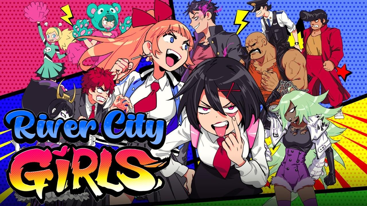 River City Girls [L] [RUS + ENG + 5 / ENG] (2019) (1.0) [GOG]