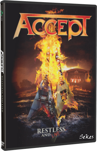 Accept - Restless And Live (2017, DVD9)