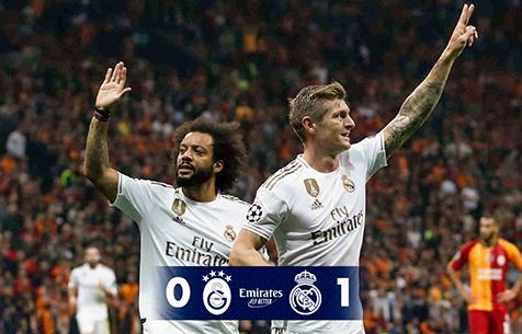 Galatasaray Spor Kulübü - Real Madrid C.F. 0:1